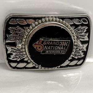 GRAND NATIONAL INTERCOOLED SILVER/BLACK BUCKLE